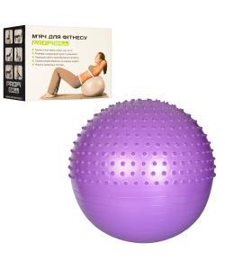 Мяч для фитнеса (фитбол) полумассажный 75см Profi (MS 1653), , MS 1653, Profi, Мячи для фитнеса