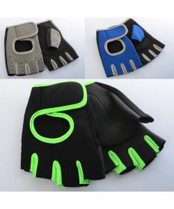 Спортивные перчатки для зала фитнеса (велоперчатки) Profi (MS 2021), , MS 2021, Profi, Фитнес, йога и аэробика