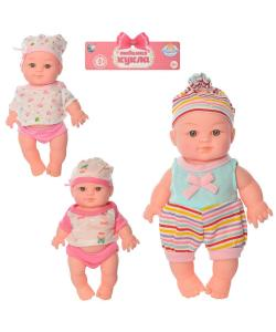 Кукла пупс детский для девочки на батарейках 22см Tongde (170961A), , 170961A, Tongde, Детские игрушки
