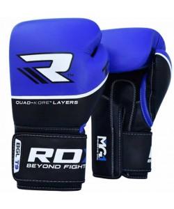 Боксерские перчатки RDX Quad Kore Blue, , 10127, RDX, Боксерские перчатки