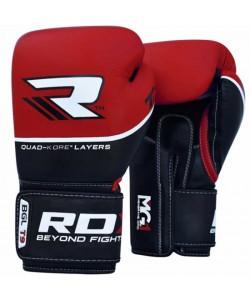 Боксерские перчатки RDX Quad Kore Red, , 10123, RDX, Боксерские перчатки