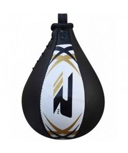 Пневмогруша боксерская RDX Leather без крепления White/Black, , 30305,3032, RDX, Пневмогруша