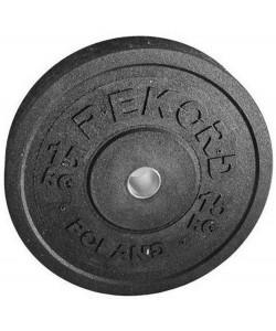 Бамперный диск Rekord BP-15 15 кг, 13894, BP-15, Rekord, Блины и диски
