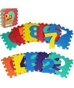 Детский игровой развивающий коврик-пазл (мозаика головоломка) Profi M (2608), 14853, 2608, Profi, Пазлы для детей