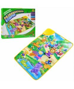 Детский игровой развивающий коврик OSPORT Веселый зоопарк (YQ 2969), 14852, YQ 2969, OSPORT, Развивающие коврики для детей