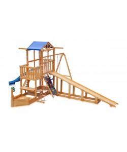 Детская площадка Капитан с зимней горкой SportBaby (Babyland-13), , Babyland-13, SportBaby, Детские игровые комплексы