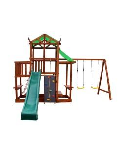 Детский игровой комплекс для дачи SportBaby (Babyland-9), , Babyland-9, SportBaby, Детский спортивный уголок (комплекс)