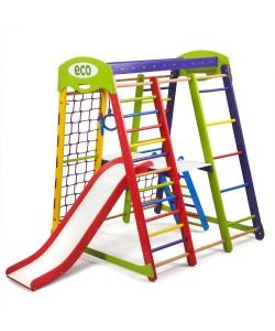 Детский спортивный комплекс 132х124х150см SportBaby (Акварелька Plus 2), , Акварелька Plus 2, SportBaby, Детский спортивный уголок (комплекс)