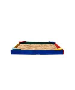 Детская песочница 1,45х1,45х0,12м SportBaby (Песочница-15), 19796, Песочница-15, SportBaby, Детские игровые комплексы