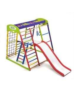 Детский спортивный комплекс 132х124х130см SportBaby (Юнга Plus 2), , Юнга Plus 2, SportBaby, Детский спортивный уголок (комплекс)