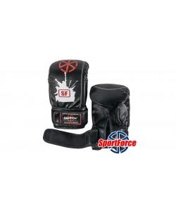 Снарядные перчатки (битки) SportForce, кожзам SF-BM02