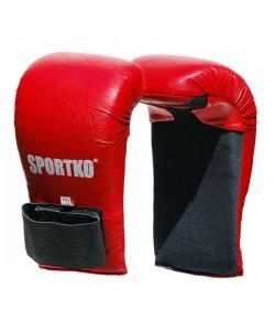 Накладки для карате из кожвинила Sportko (НК-2), 18025, НК-2, Sportko, Перчатки для рукопашного боя, каратэ