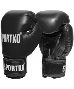 Боксерские перчатки из кожвинила Sportko 12 oz (ПД1_1), , ПД1_1, Sportko, Боксерские перчатки