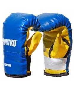 Боксерские перчатки из кожвинила Sportko 4 oz (ПД2-4), , ПД2-4, Sportko, Детские боксерские перчатки