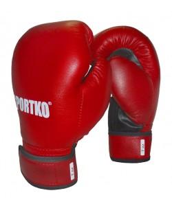Боксерские перчатки из кожвинила Sportko 7 oz (ПД2-7), , ПД2-7, Sportko, Детские боксерские перчатки