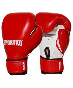 Боксерские перчатки из кожвинила Sportko 8 oz (ПД2-8), , ПД2-8, Sportko, Детские боксерские перчатки