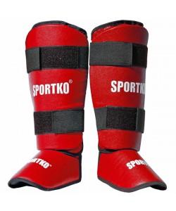 Защита для ног из кожвинила Sportko (331), , 331, Sportko, Защитная экипировка