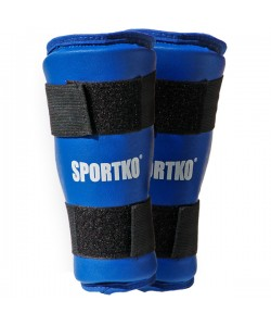 Защита голени из кожвинила Sportko (332), , 332, Sportko, Защитная экипировка
