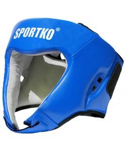 Шлем боксерский кожаный Sportko (ФБУ), , ФБУ, Sportko, Защитная экипировка