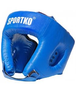 Шлем боксерский из кожвинила Sportko (ОД2), , ОД2, Sportko, Защитная экипировка