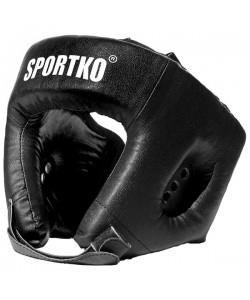 Шлем боксерский кожаный Sportko (ОК1), , ОК1, Sportko, Защитная экипировка
