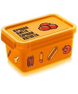 Термос (судок) для еды ланч-бокс пластиковый 850 мл Stenson (NP-77), , NP-77, Stenson, Термосы для еды