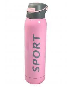 Термос (термочашка) бутылка спортивная металлическая 500мл Stenson Sport New (8257P), 19221, 8257P, Stenson, Термосы