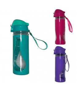 Бутылка (бутылочка) для воды и напитков спортивная 450мл Stenson (R83624), 19382, R83624, Stenson, Шейкер и бутылки для воды