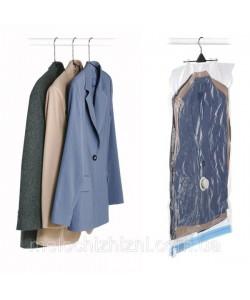 Вакуумный пакет (чехол) для хранения вещей (одежды) 67х90 см с вешалкой Stenson (R26101), 20240, R26101, Stenson, Разные товары для дома