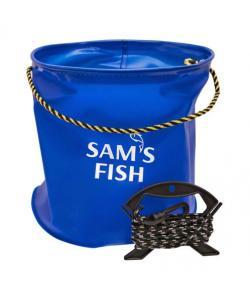 Ведро рыболовное для хранения рыбы EVA 25х25см Stenson (SF23842), 19690, SF23842, Stenson, Охота и рыбалка