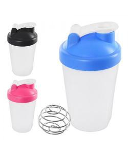 Спортивный шейкер (бутылочка для воды) пластиковый 400мл Stenson (J00190), , J00190, Stenson, Шейкер и бутылки для воды