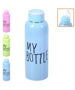 Термос бутылка спортивная железная My bottle 650мл Stenson (J00195), , J00195, Stenson, Шейкер и бутылки для воды