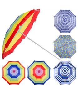 Зонт пляжный в чехле с ручкой 1.8м Stenson (MH-0038), 20026, MH-0038, Stenson, Аксессуары для туризма