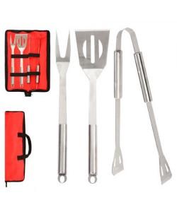 Набор для барбекю и гриля (вилка, лопатка, щипцы) Stenson (MH-0915), , MH-0915, Stenson, Товары для кухни