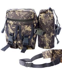 Барсетка (сумка) мужская тактическая для охоты и туризма на пояс 18х14см Stenson (N02250), 19607, N02250, Stenson, Спортивные сумки