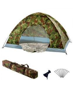 Палатка туристическая 4-х местная Хаки 1.9х1.9х1.35м OSPORT (R17758), , R17758, OSPORT, Палатки трехместные