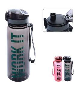 Бутылка (бутылочка) для воды и напитков спортивная 500мл Stenson (R83626), 19383, R83626, Stenson, Шейкер и бутылки для воды