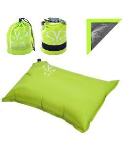 Надувная подушка (подголовник) для путешествий, отдыха, пляжа, под шею в самолет Stenson (YFC500), , YFC500, Stenson, Аксессуары для туризма