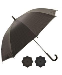 Зонт-трость унисекс (зонтик) от дождя ветрозащитный полуавтомат 53см  Stenson (T05717), , T05717, Stenson, Аксессуары для туризма