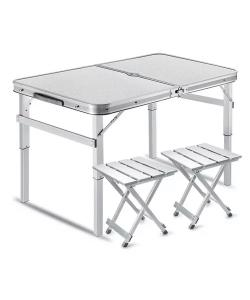 Туристический стол раскладной трансформер походной для кемпинга и рыбалки +4 стула Stenson (MH-3303), 30321, MH-3303, Stenson, Все для туризма