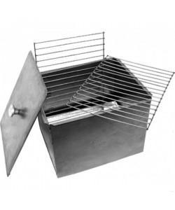 Коптильня для рыбы горячего копчения купить недорого волга 28 самогонный аппарат