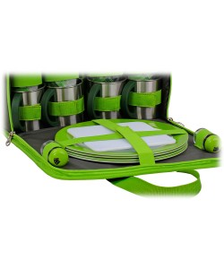 Набор для пикника на 4 персоны Time Eco TE-244 Set, , TE-244Set, Time Eco, Аксессуары для туризма