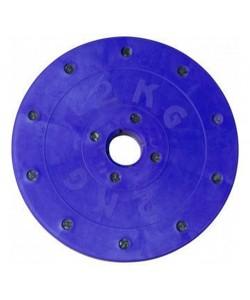 Диск гантельный Титан 2 кг, 13829, D-2, Титан-Днепр, Блины и диски