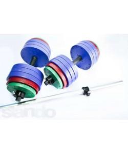 Набор Титан 40 кг, , GSHT-40, Титан-Днепр, Штанги