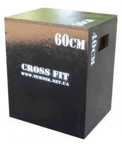 Тумба для кроссфита или плиометрический бокс 3 в 1 Triton CrossfitBox, 17953, CrossfitBox, Triton, Степ платформа
