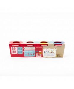 Мини набор для лепки 4 цвета Tutti-Frutti (BJTT80100)