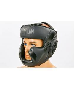 Шлем боксерский (для бокса) с полной защитой кожа PU VENUM (BO-7041), , BO-7041, Venum, Защитная экипировка