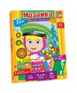 Набор для творчества Мозаика. Маша и Медведь VT4207-03