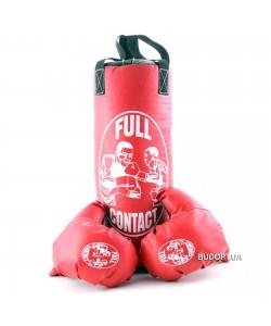 Боксерский набор детский Zel BO-4675-BK(S), , BO-4675-BK(S), Zelart, Детский боксерский набор