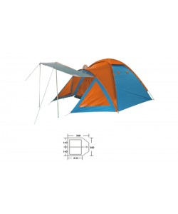 Палатка универсальная 3-х местная Zelart BL-1009